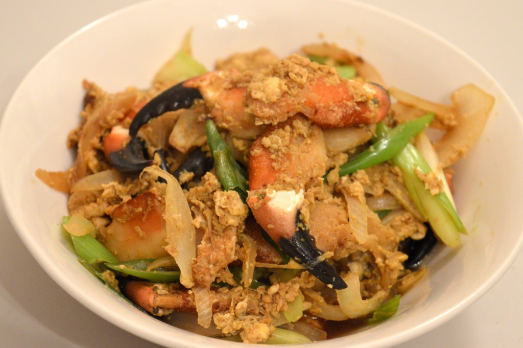 Crab Claw Stir Fry Recipe