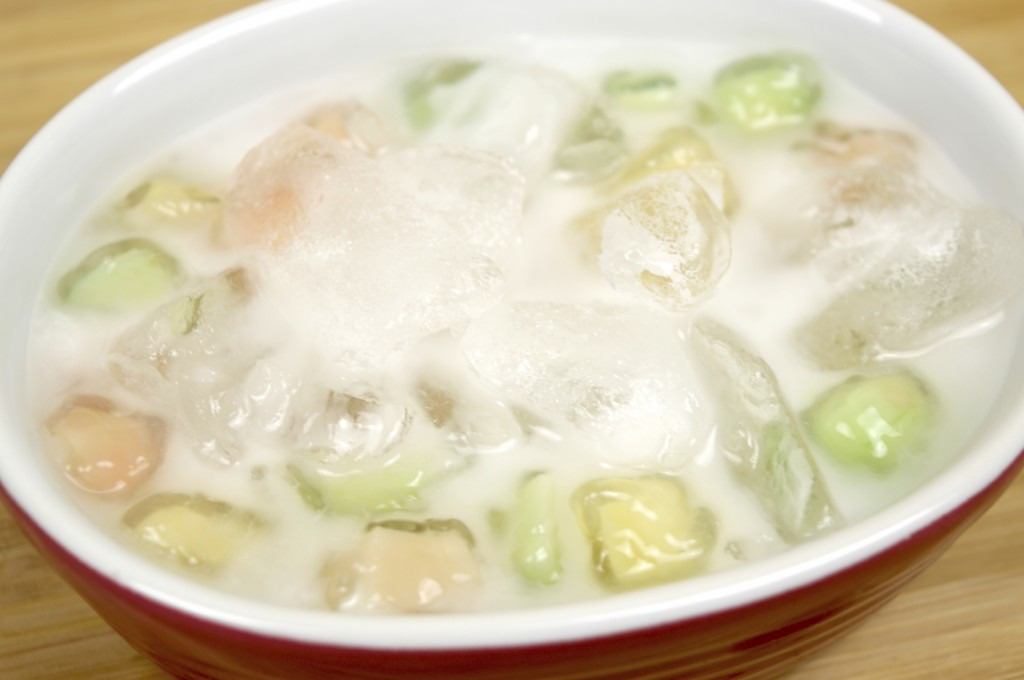 Refreshing Waterchestnut In Coconut Cream Sauce
