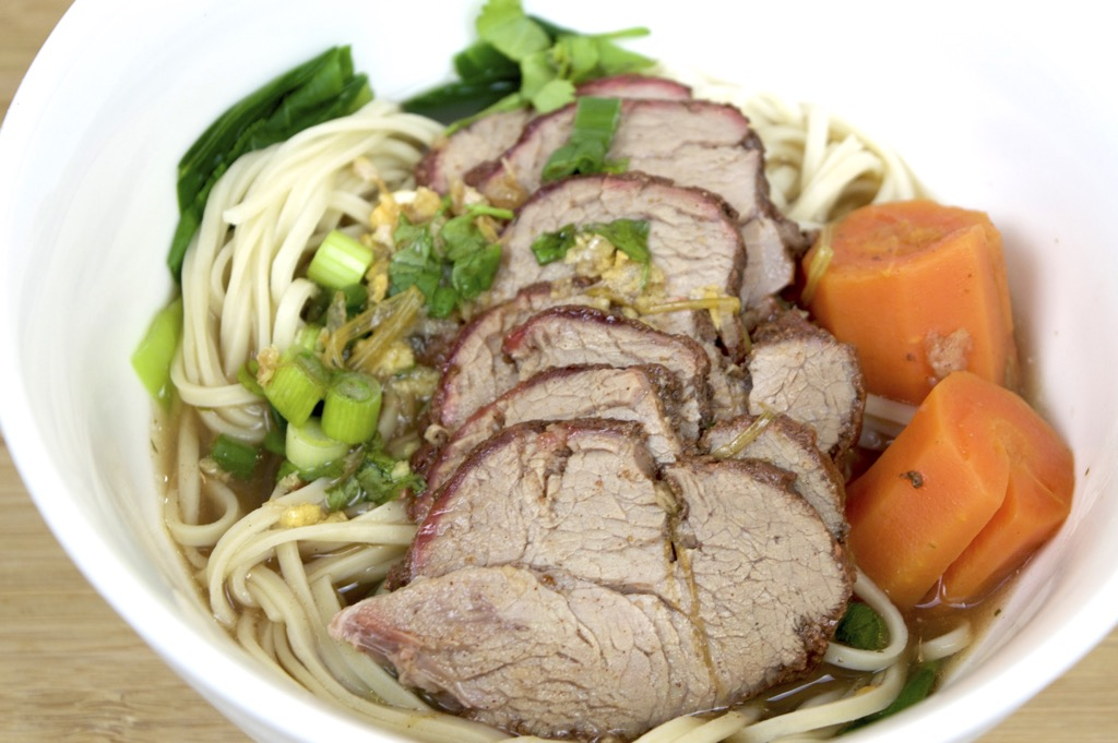 how to cook chinese egg noodle soup