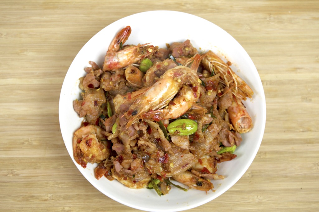 Seafood Spicy Stir Fry