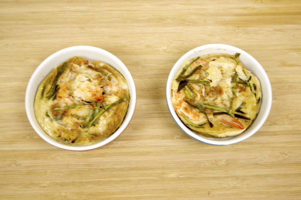 Steamed Seafood Cakes