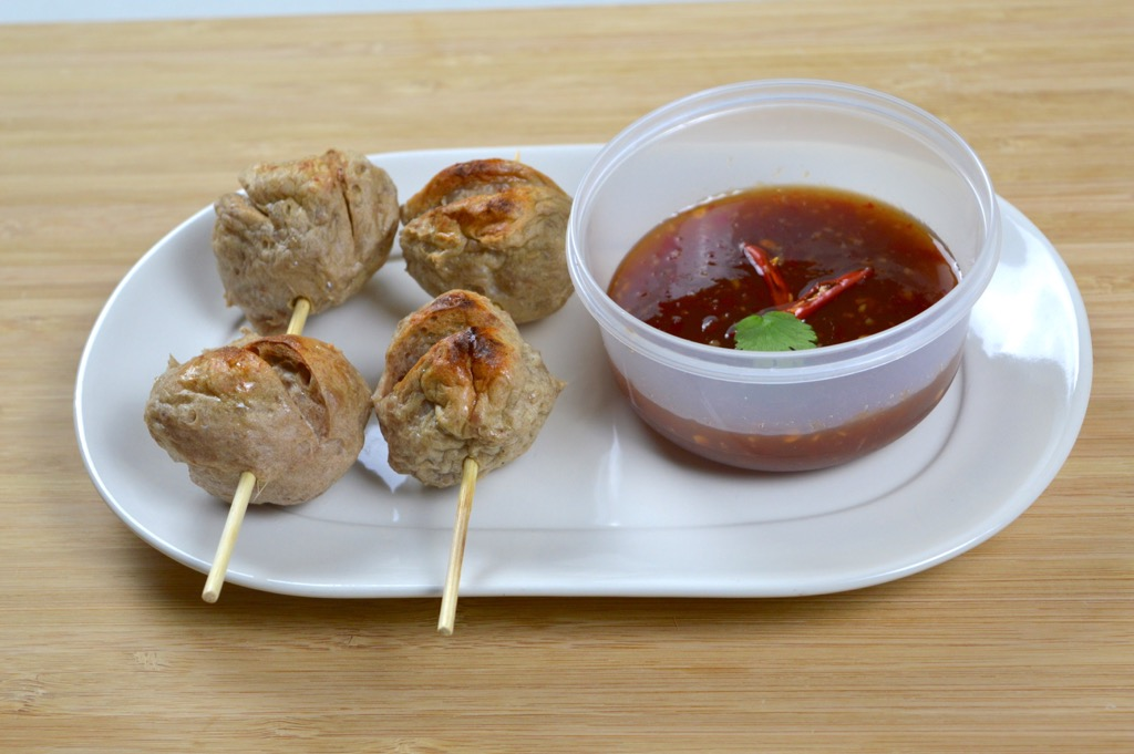 Sweet Chilli Sauce With Meatballs