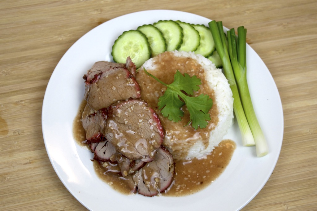 Roasted Pork With Thai Gravy