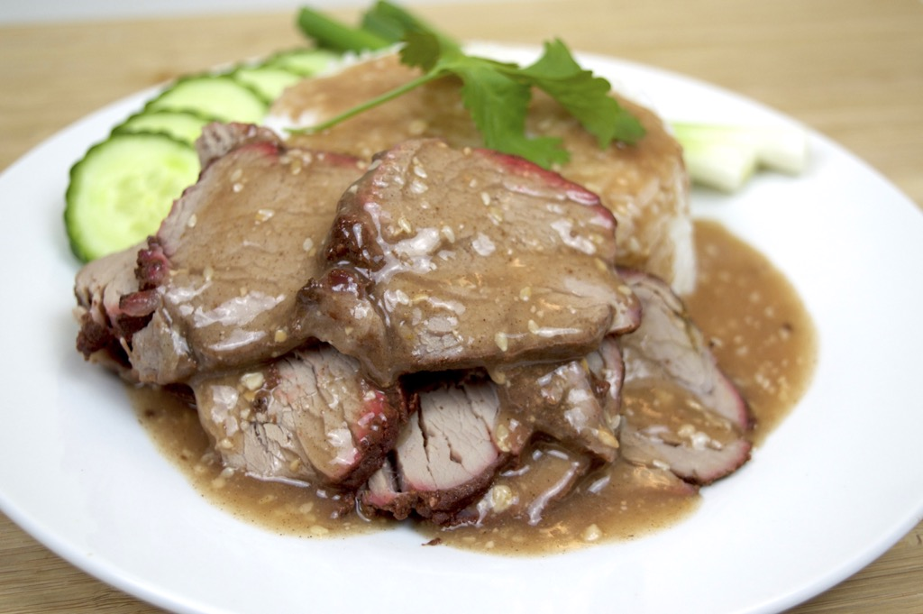 Thai Pork And Gravy Sauce
