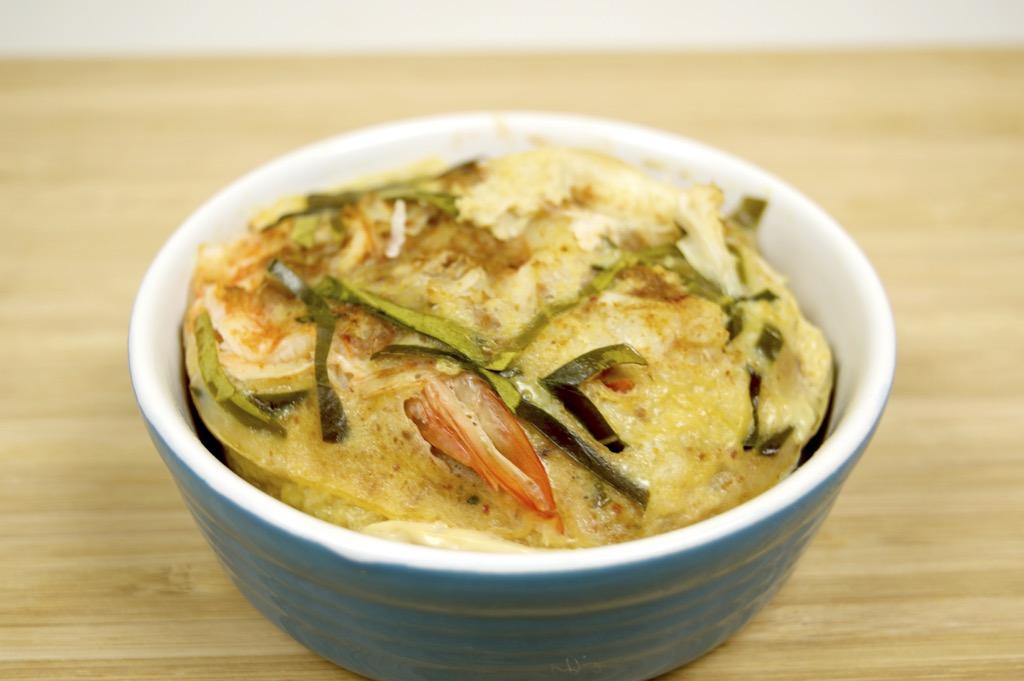 thai mixed seafood cake