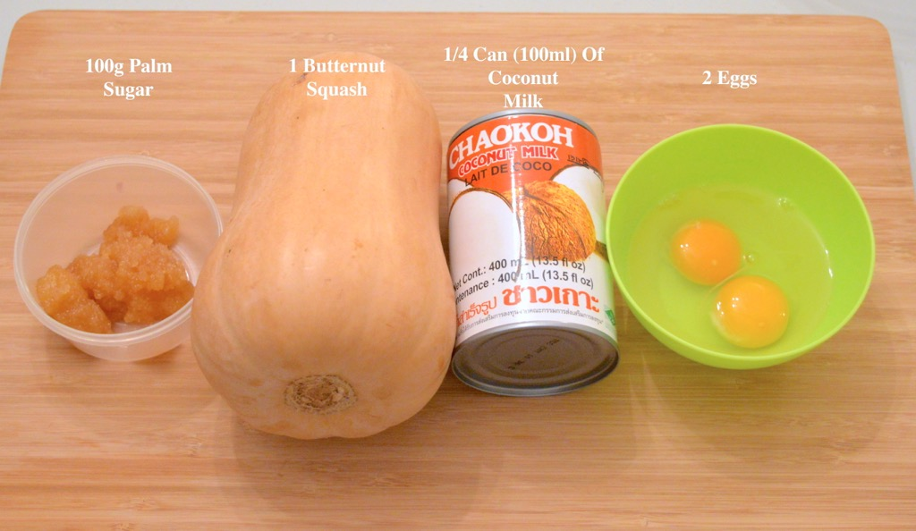 Butternut Squash Custard Ingredients List