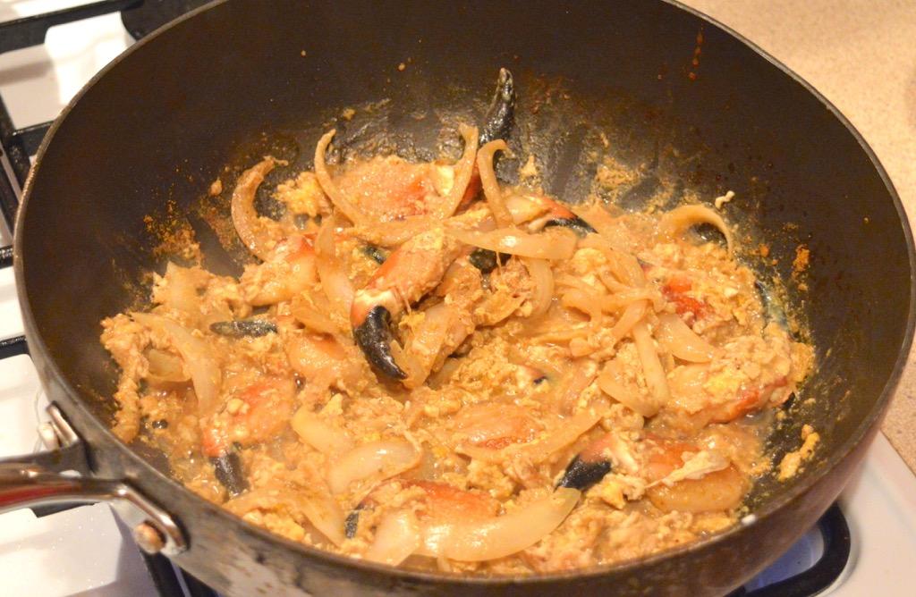 Stir Fried Crab Claws In Curry Powder