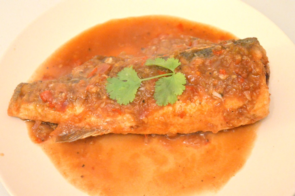 Thai Fried Sea Bass