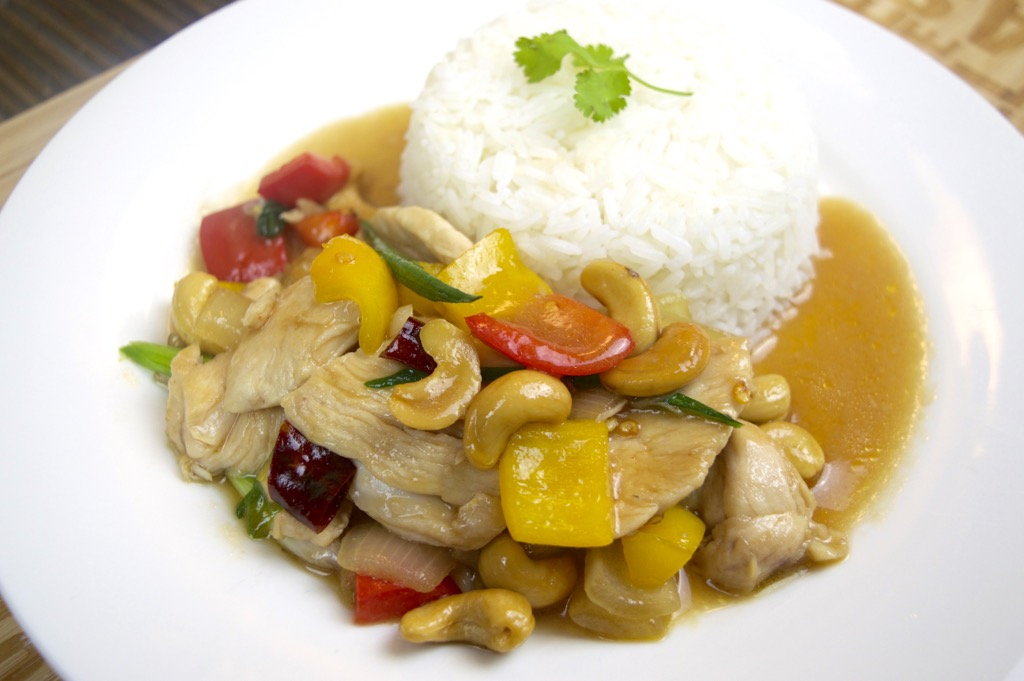 Chicken and cashew nuts recipes