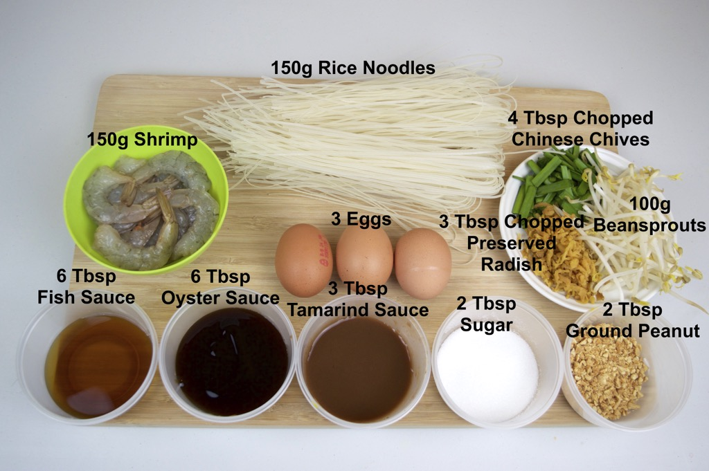 pad thai ingredients list