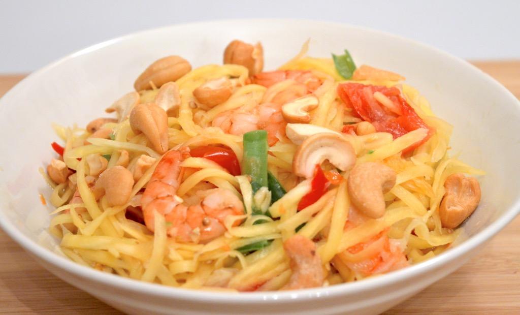 som tam with prawns 5