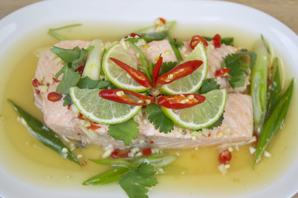 steamed lime fish recipe