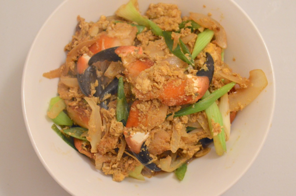 stir fried crab claws recipe