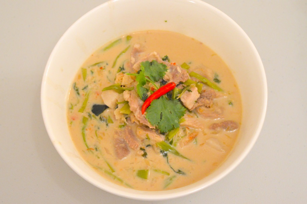 thai morning glory curry recipe