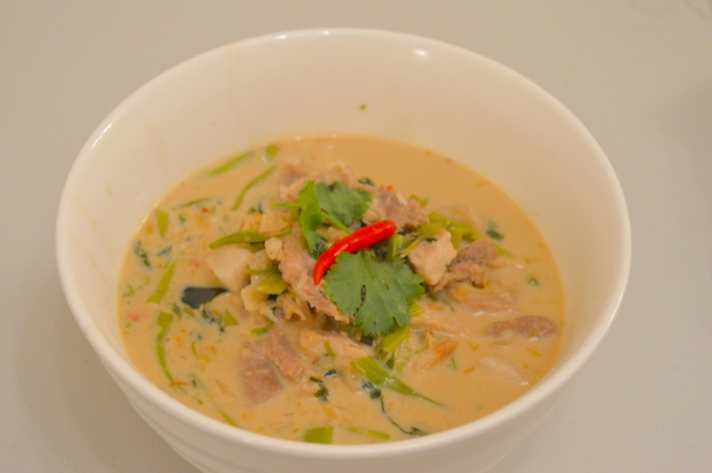 thai morning glory curry