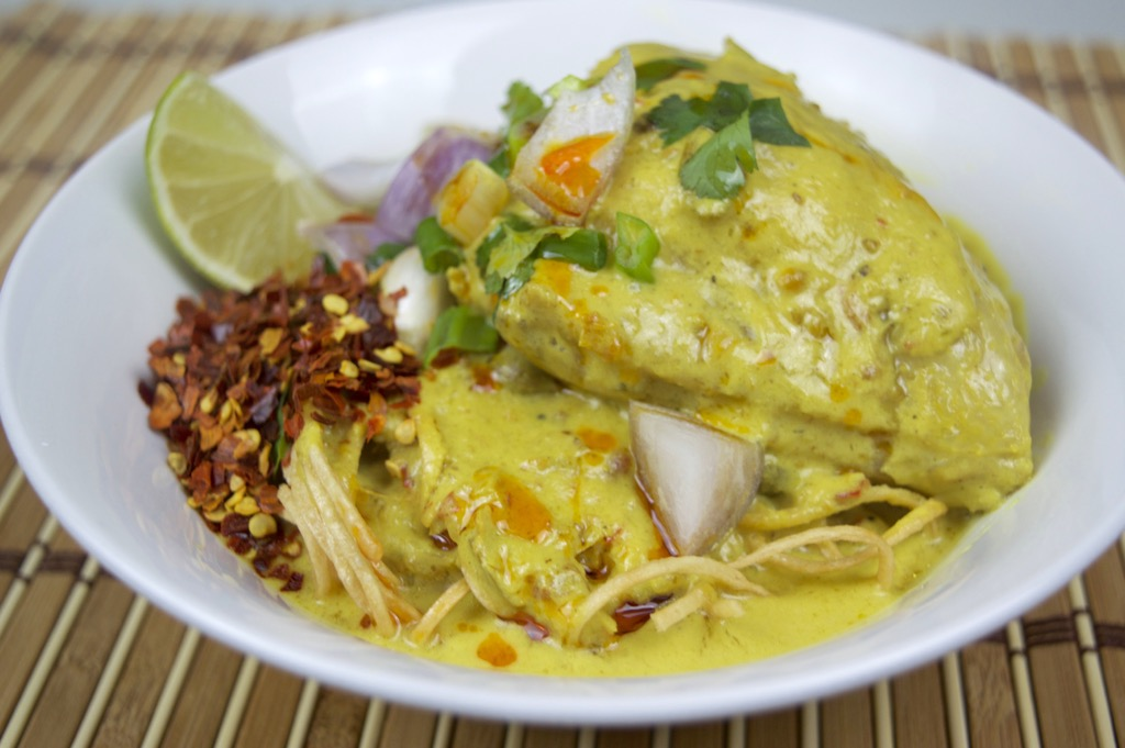 Khao Soi Curry Noodles
