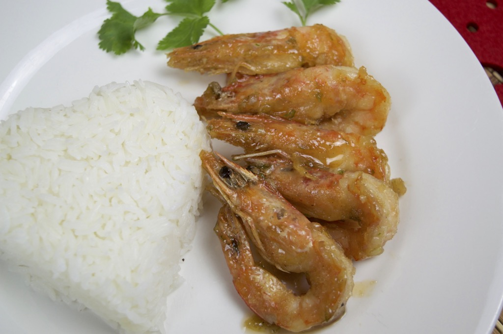 Fried Shrimp With Garlic And Pepper Recipe (Goong Kratiem ...