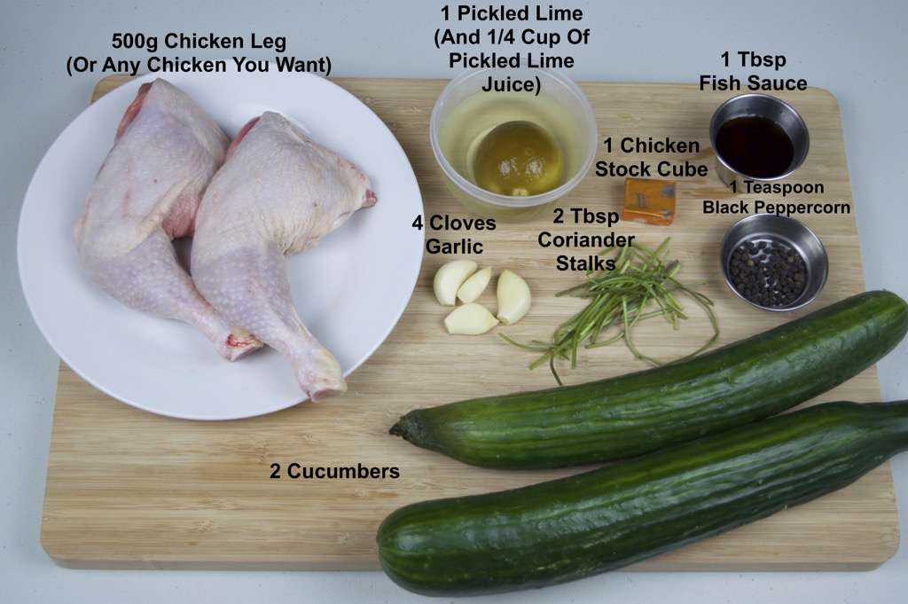 chicken soup with pickled lime ingredients list