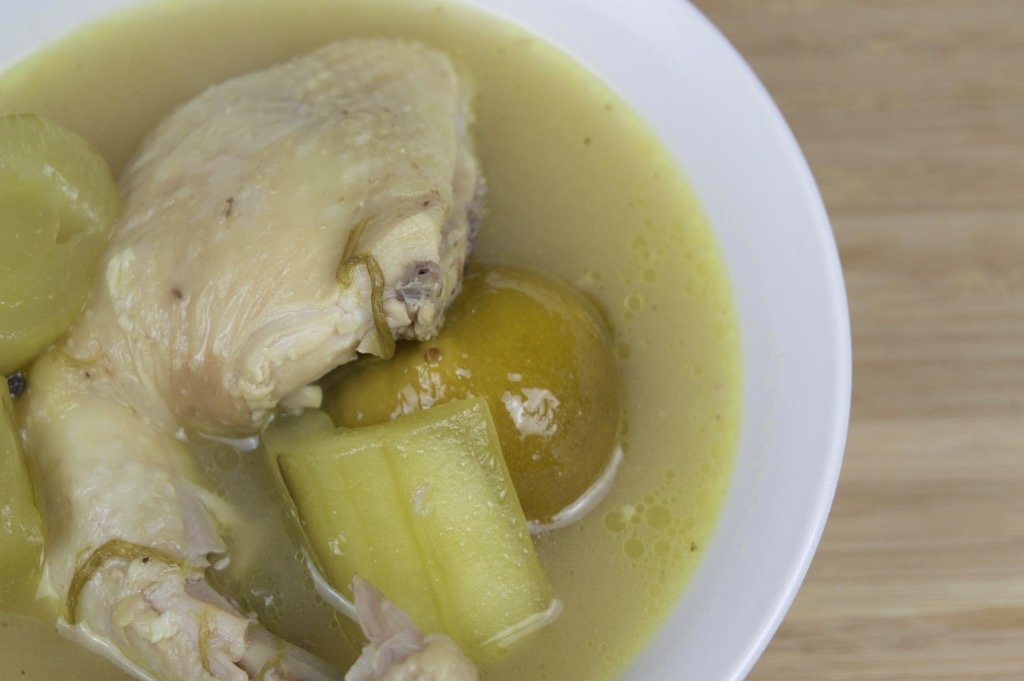 chicken soup with pickled lime recipe