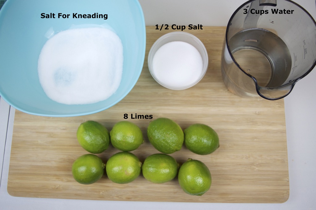 how to make pickled limes ingredients