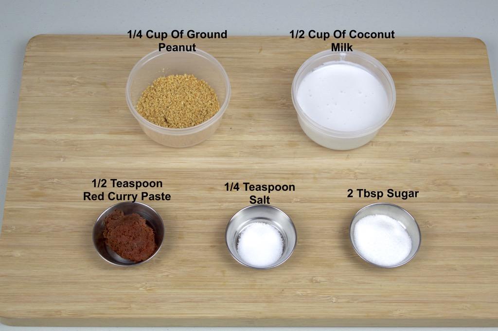 peanut sauce ingredients list