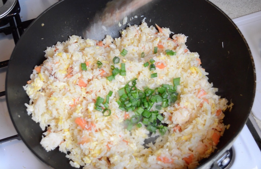 texture of fried rice