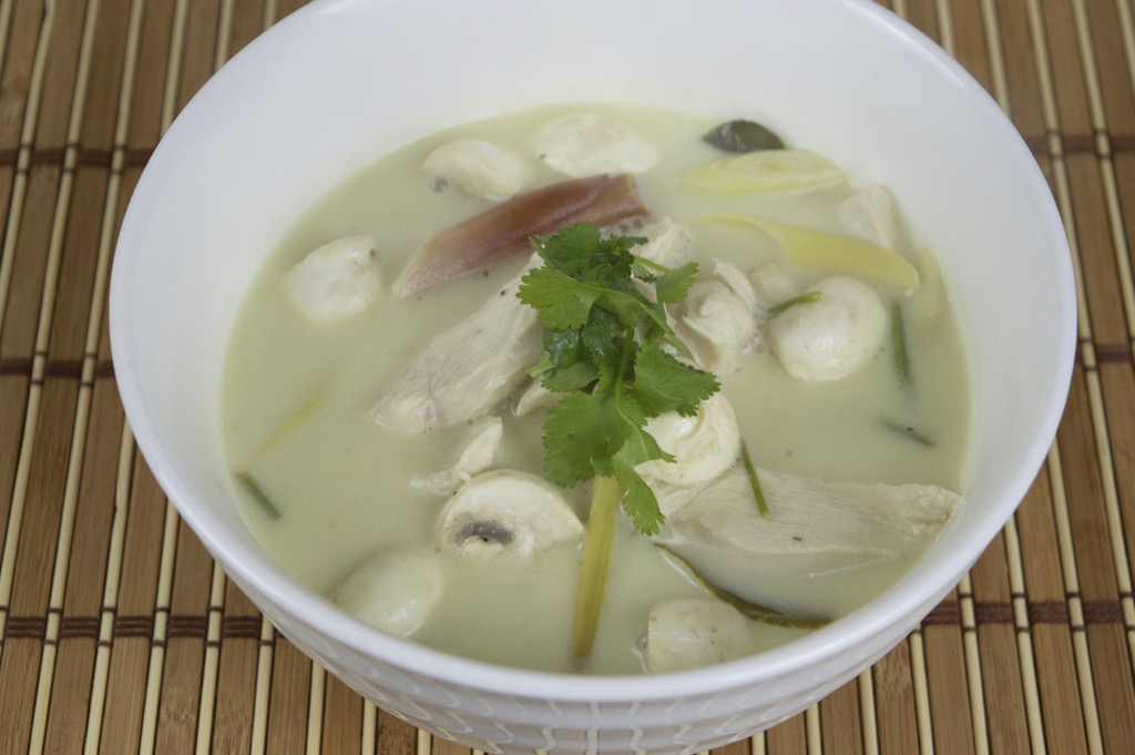 Thai Chicken Coconut Soup Recipe