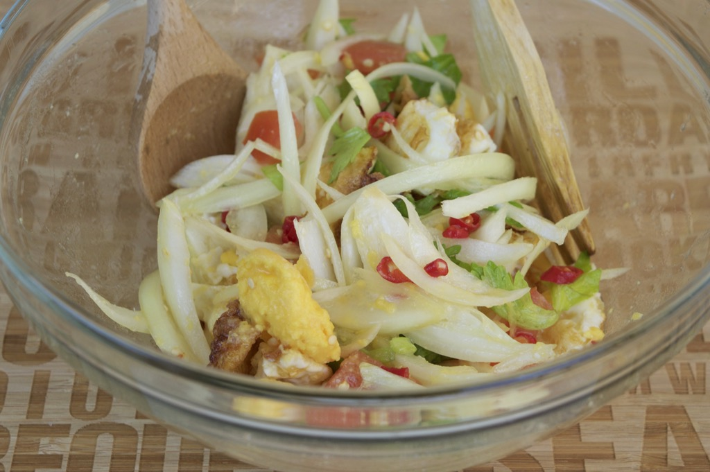 spicy egg salad recipe