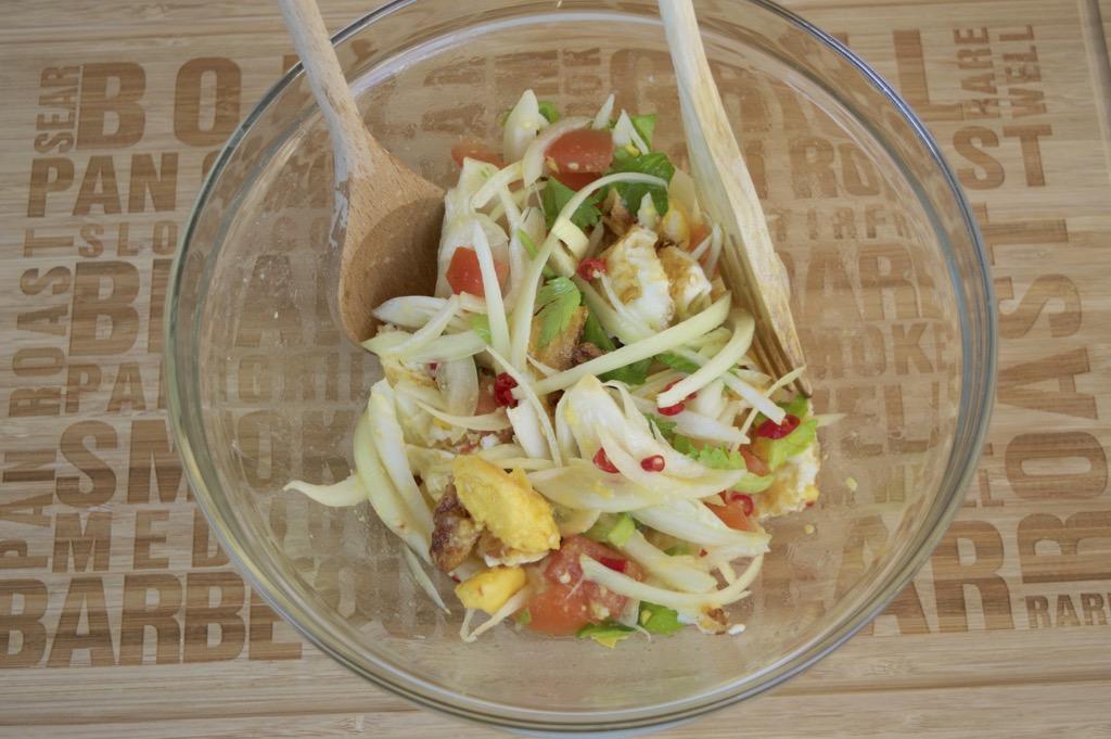 yum khai dao recipe