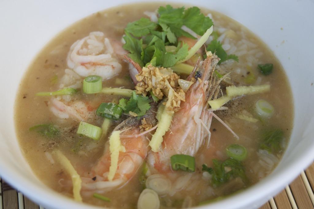 Khao Tom Gung Recipe