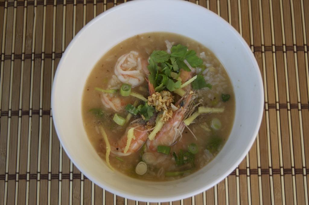 Thai Rice Soup Recipe