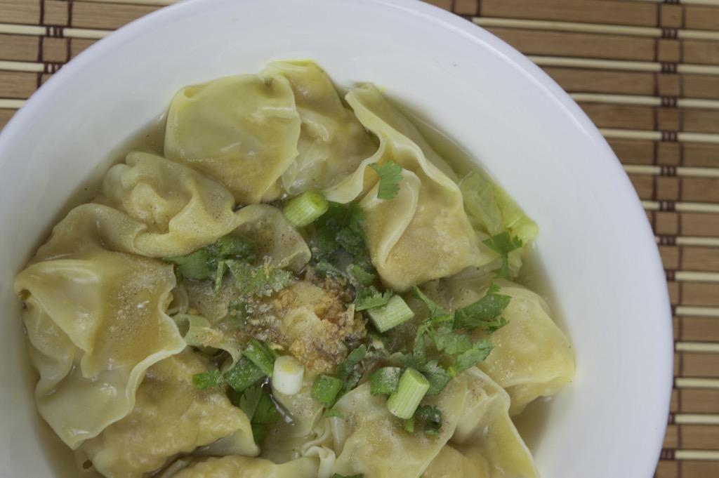 wonton dumpling soup