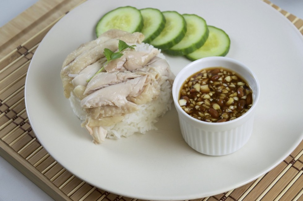 Thai Style Chicken On Rice Recipe Khao Man Gai