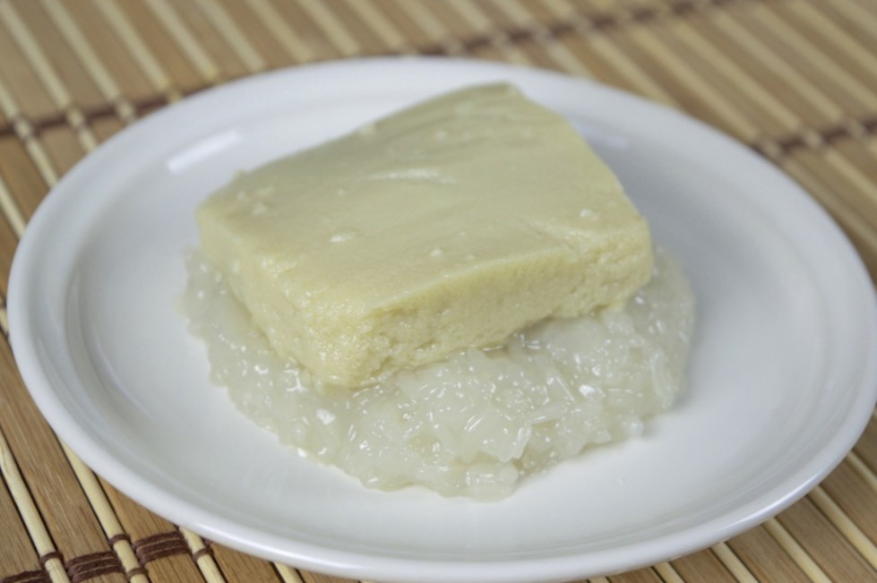 Asian sticky rice dessert