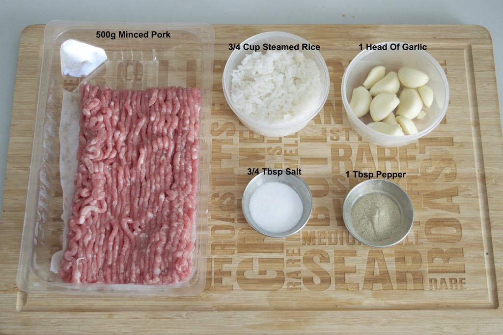 isan sour sausage ingredients list