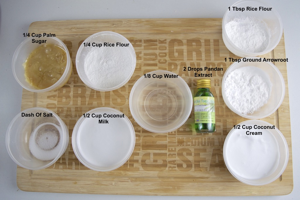 kanom tuay ingredients list