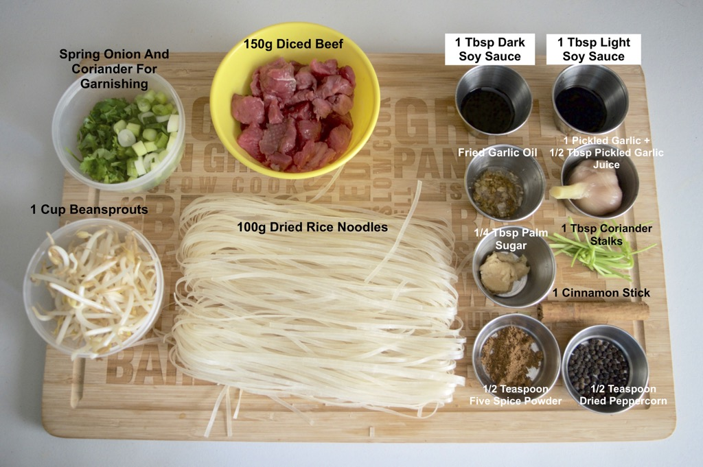 nua toon beef noodle soup ingredients list