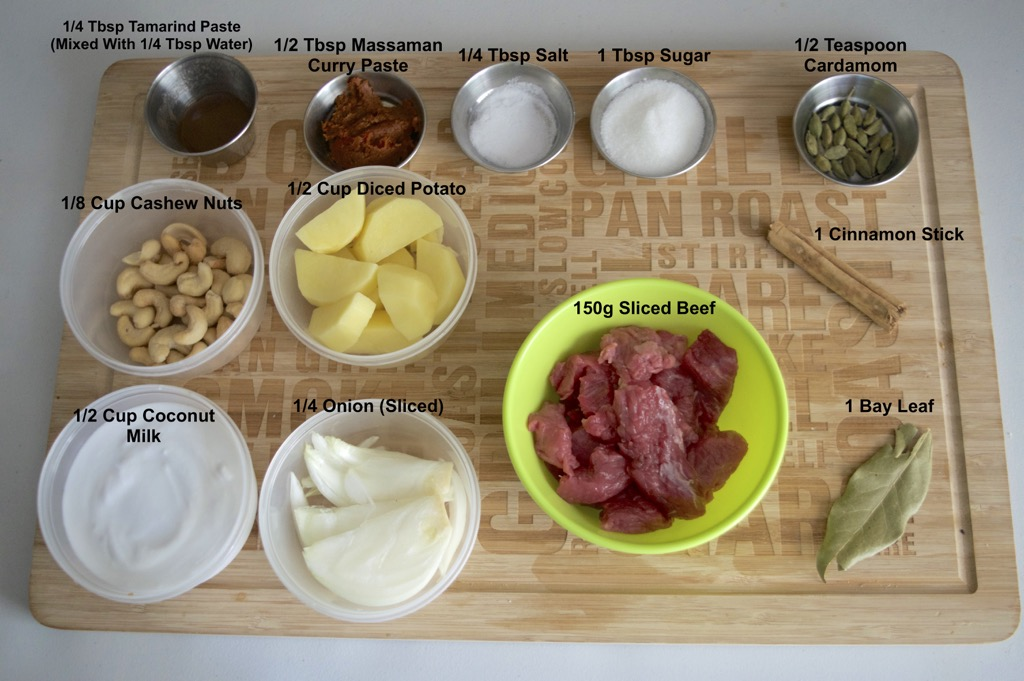 thai massaman curry ingredients list
