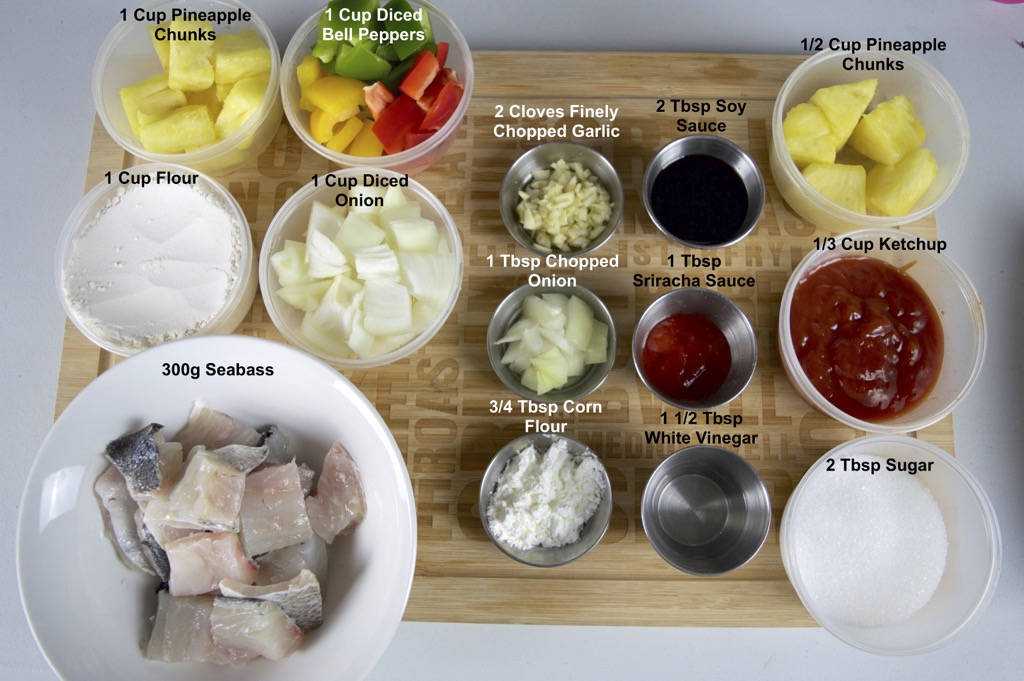 Sweet And Sour Fried Fish Ingredients List