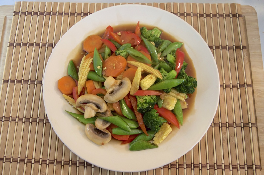 mixed vegetable stir fry recipe