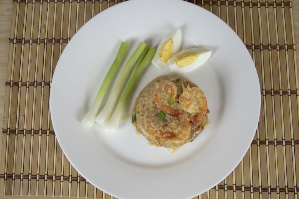 thai shrimp fried rice recipe