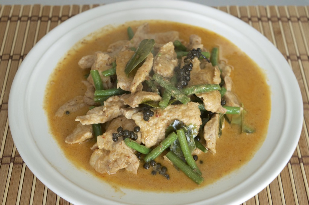 red curry stir fry
