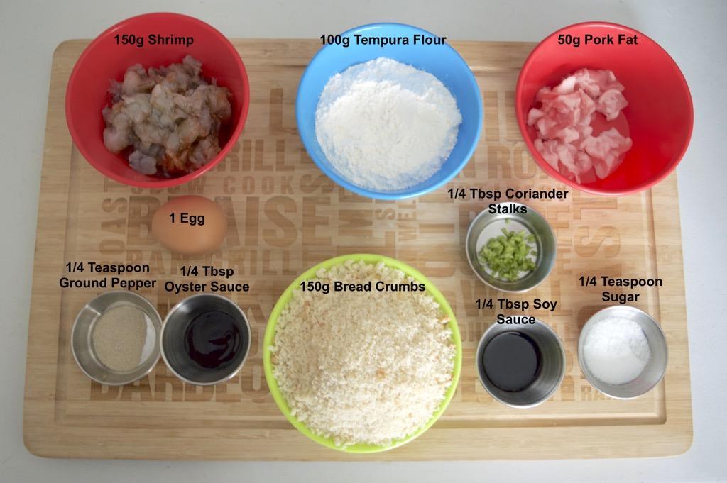 Thai Shrimp Cake Recipe Tod Mun Goong