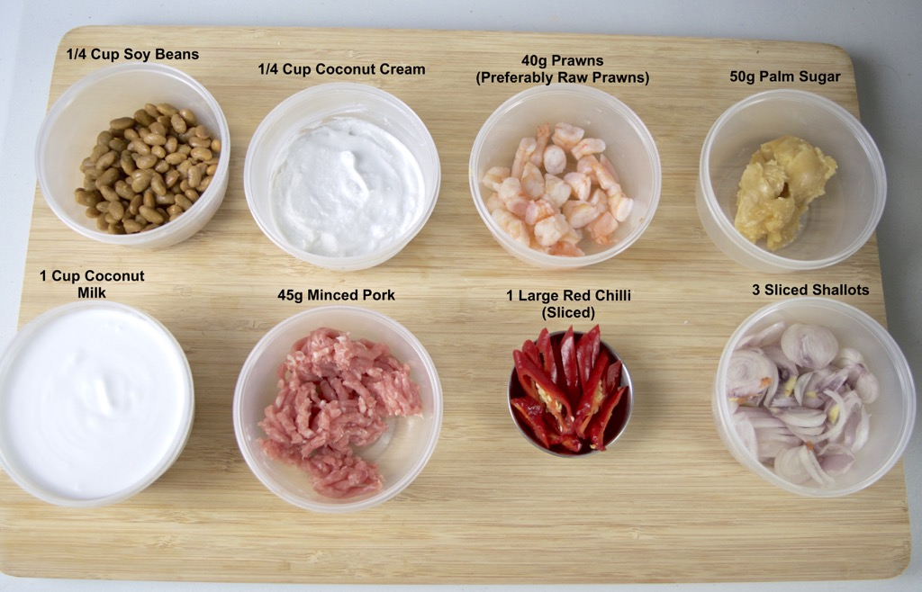 soy bean dipping sauce ingredients list