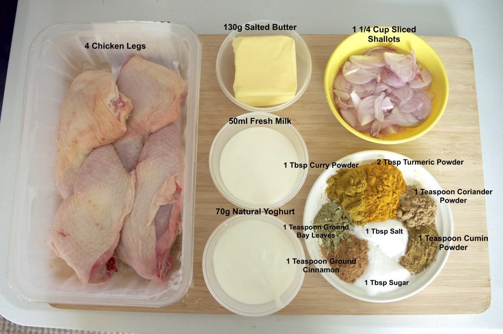 thai chicken biryani curry ingredients list