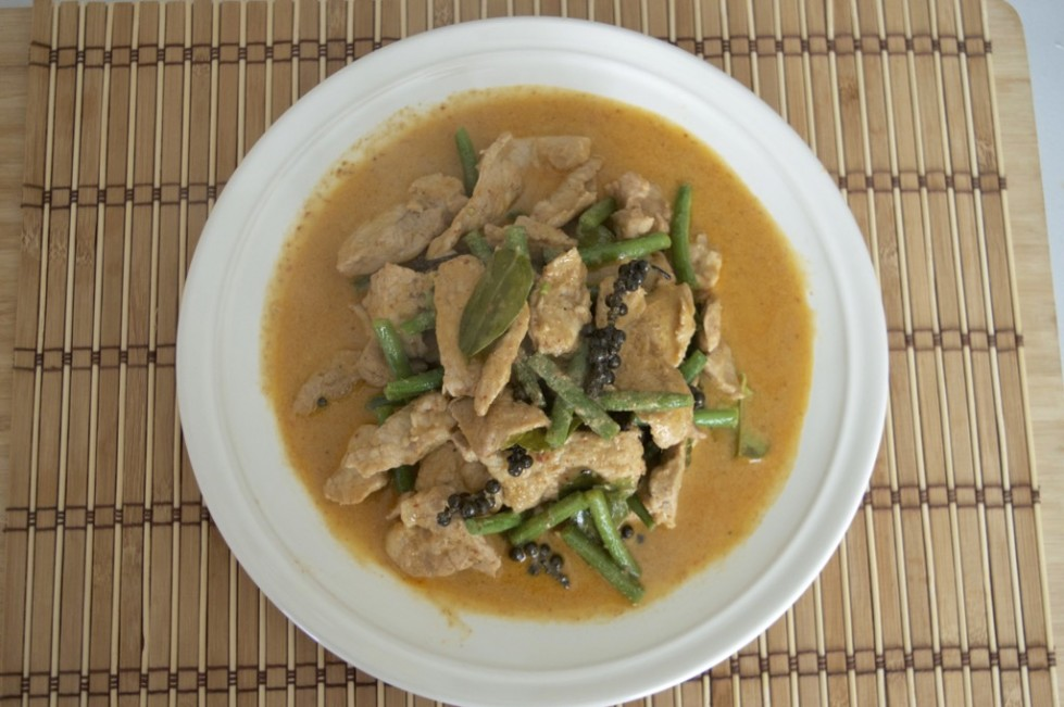 thai red curry stir fry