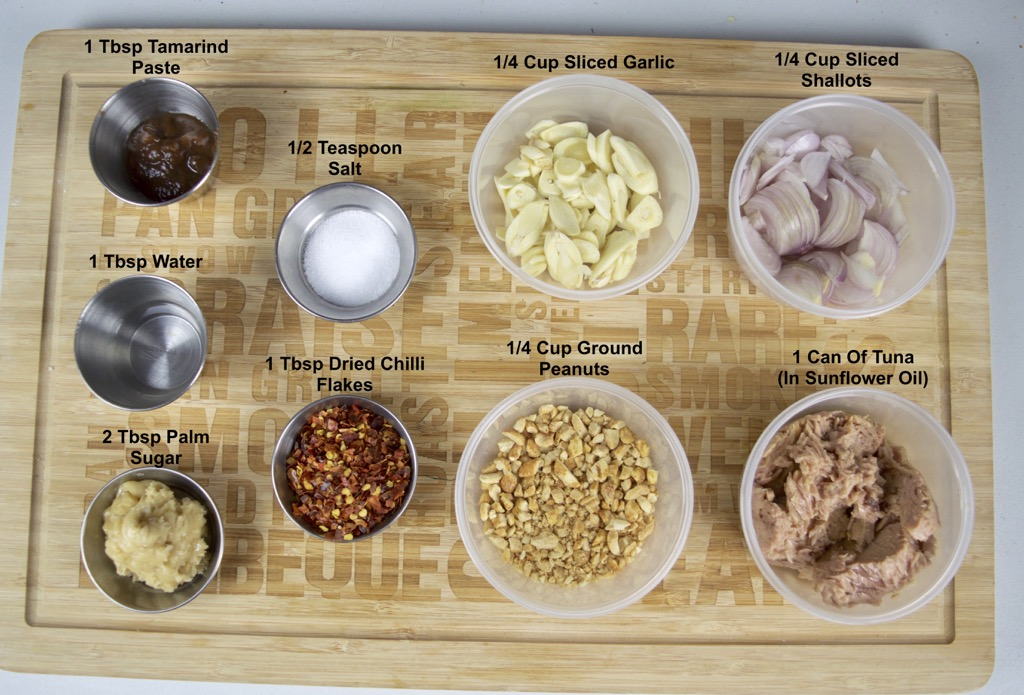 thai roasted tuna dip ingredients list