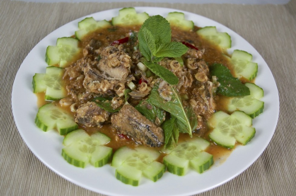 thai spicy sardine salad recipe