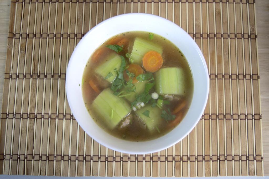 thai stuffed cucumber soup recipe