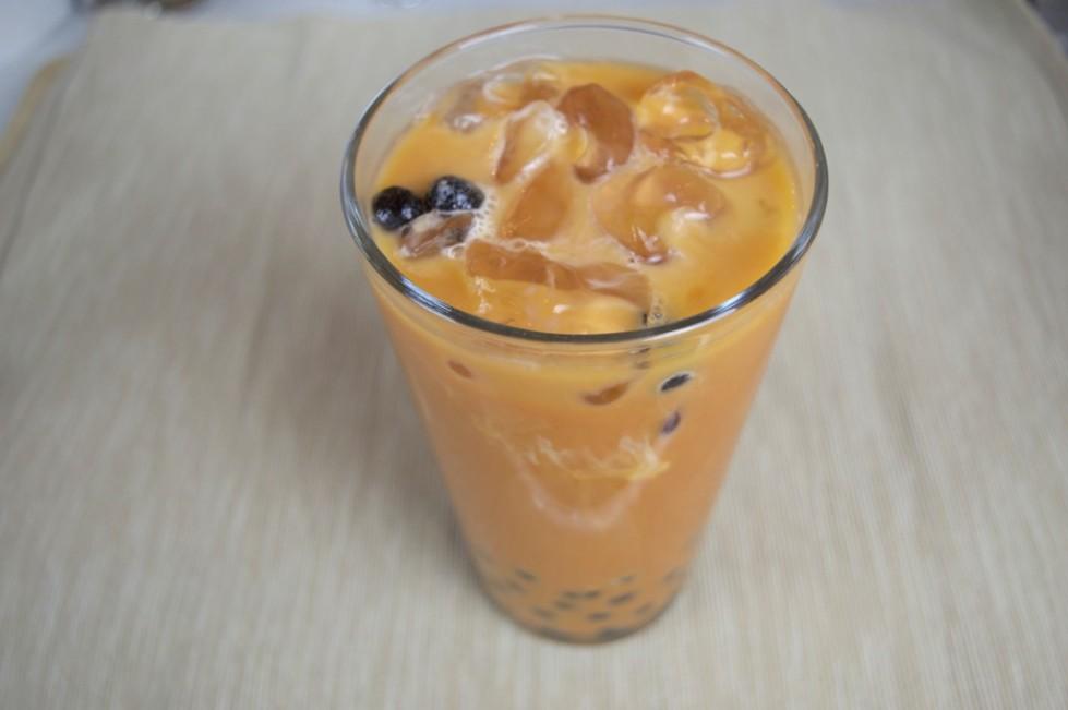 how to make thai bubble tea
